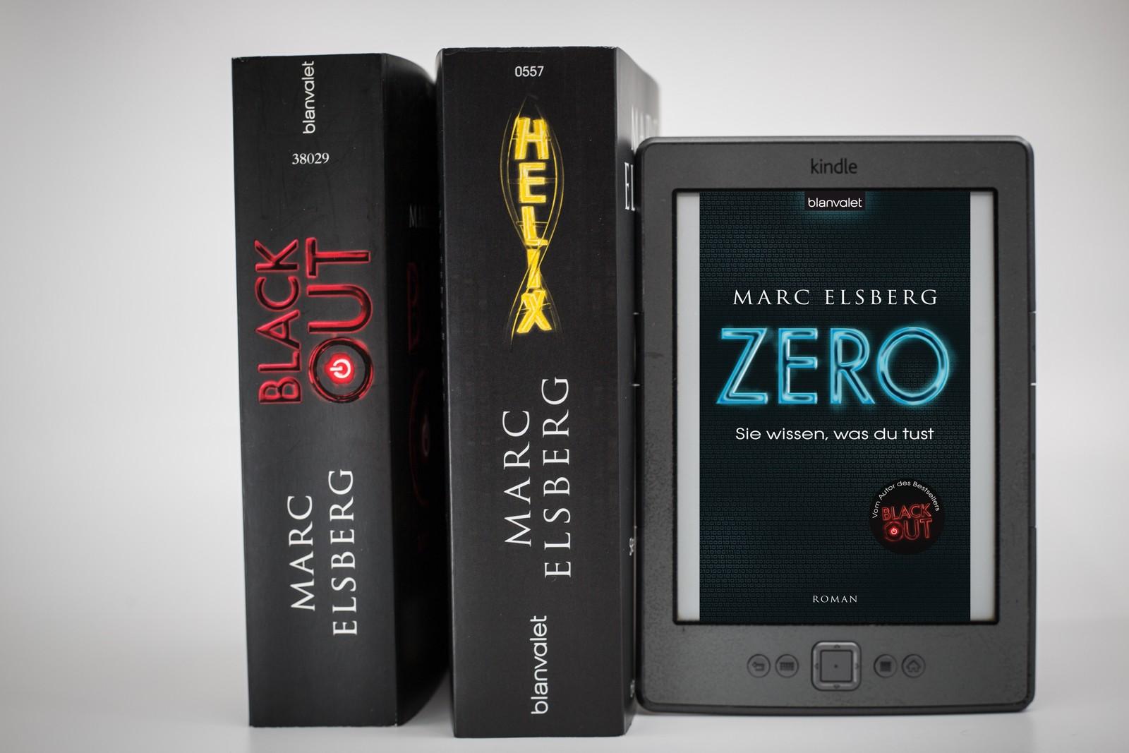 Blackout, Zero, Helix - Dystopien von Marc Elsberg