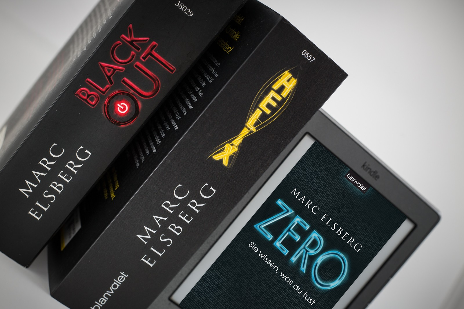 Blackout, Helix & Zero von Marc Elsberg