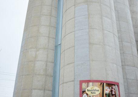 Silos der Rosenfellner Mühle