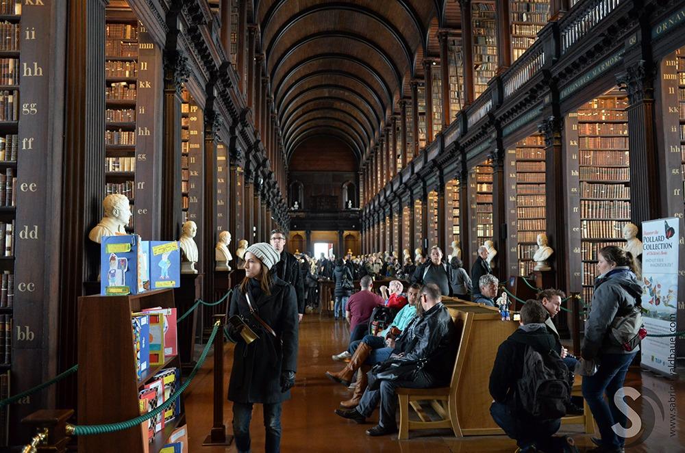 Trinity College – Buch von Kells – Old Library