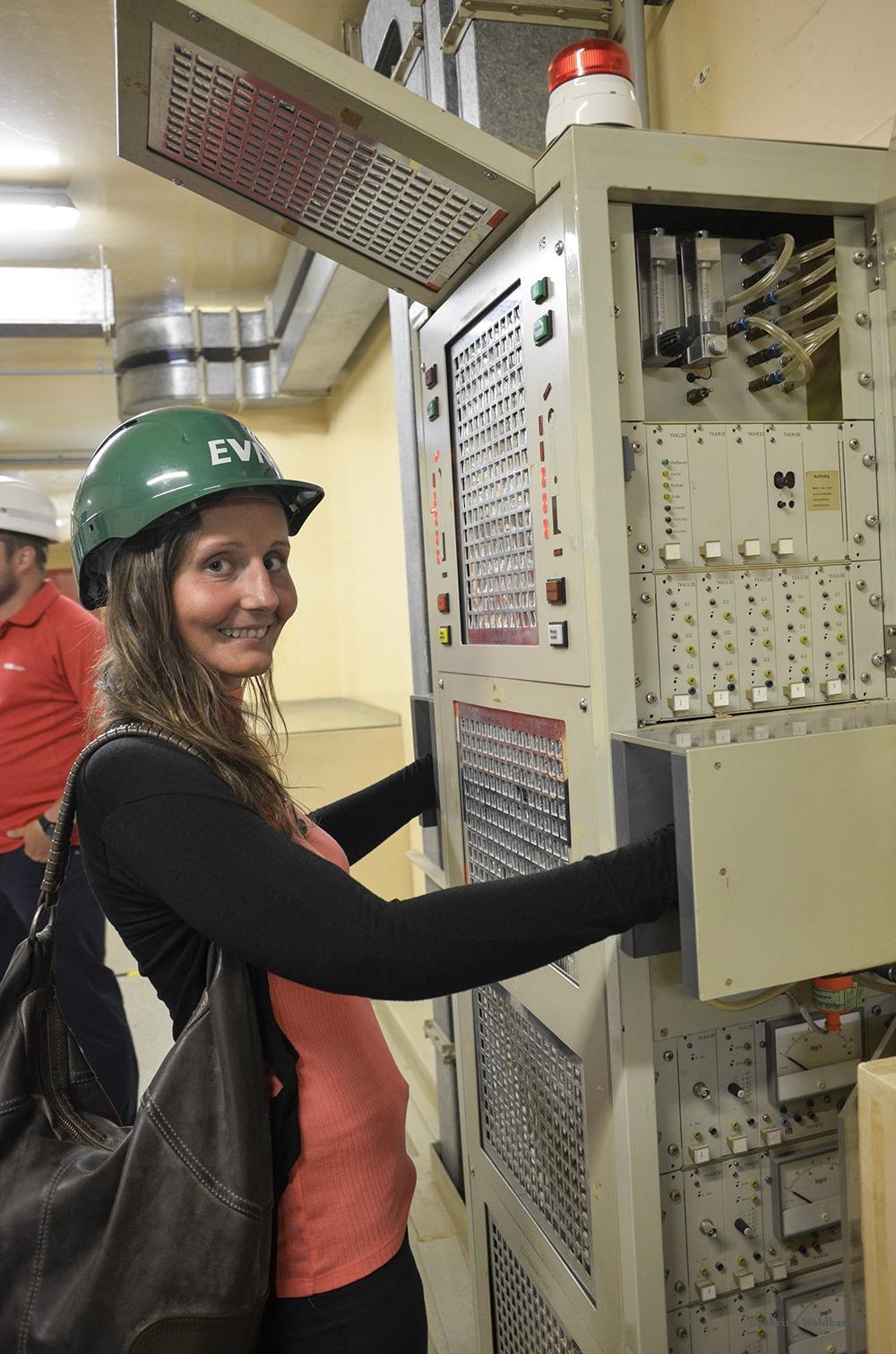 Im Kern des Atomkraftwerk Zwentendorf