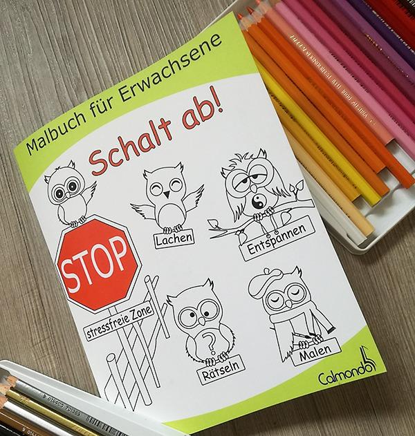 Schalt ab! – Das Malbuch für Erwachsene