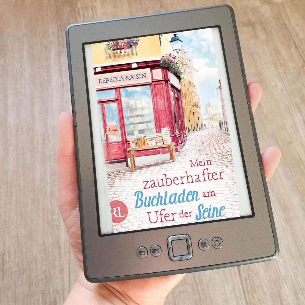 Mein zauberhafter Buchladen am Ufer der Seine – Rebecca Raisin