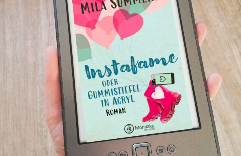 Instafame oder Gummistiefel in Acryl - Mila Summers