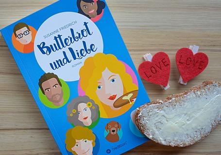 Butterbrot und Liebe - Susanne Friedrich - Vorschau