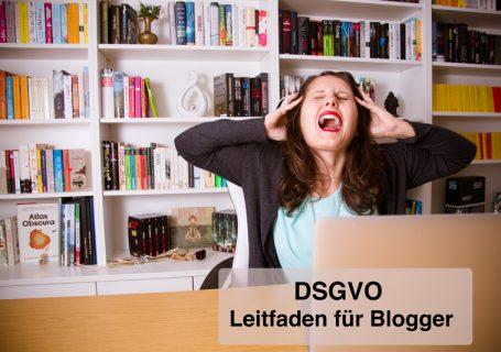 DSGVO - Leifaden für Blogger