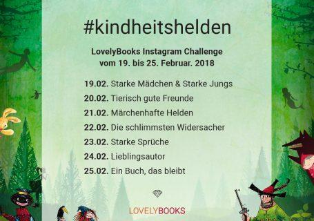 Kindheitshelden Challenge von Lovelybook auf Instagram