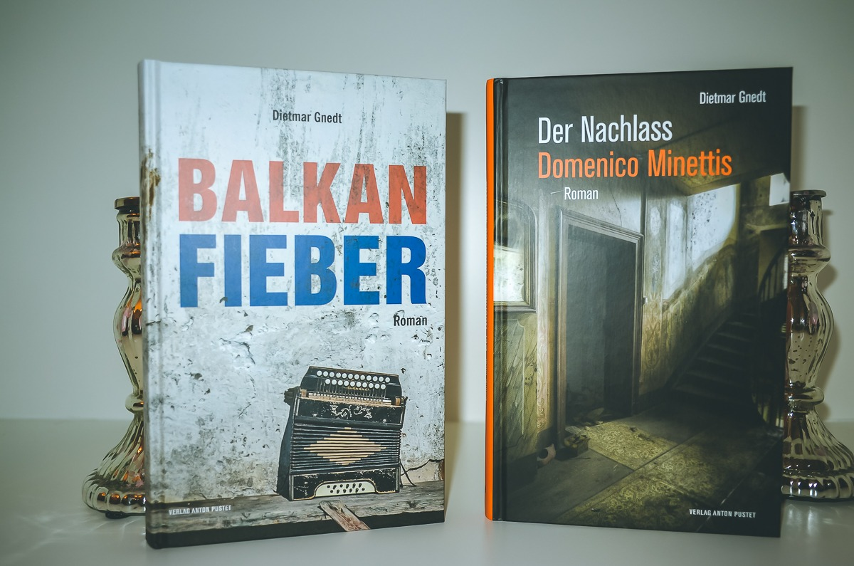 """""""Balkanfieber"""" und """"Der Nachlass Dominico Minettis"""" von Dietmar Gnedt"""