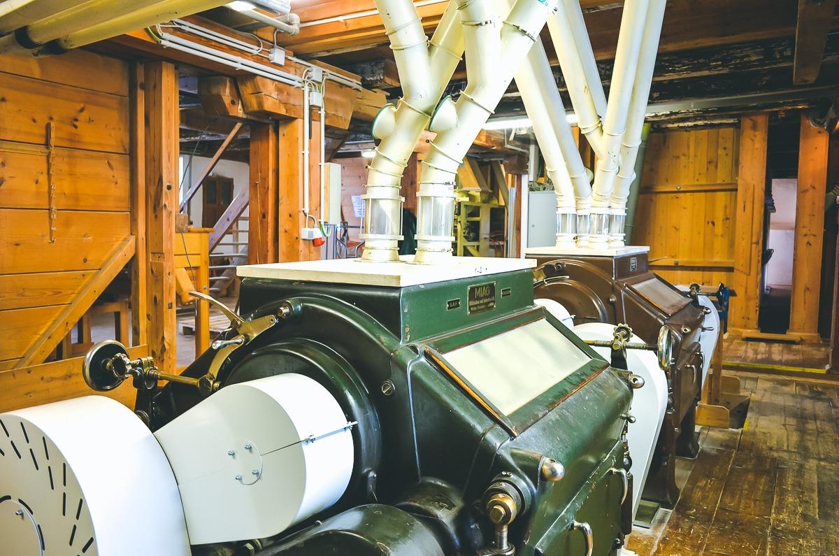 Blick in die Mühle