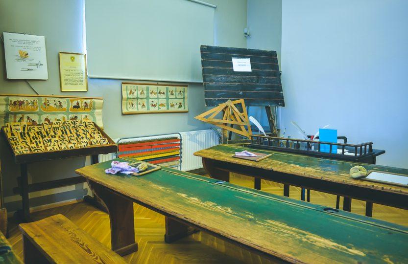 Altes Klassenzimmer im Stadtmuseum Hartberg