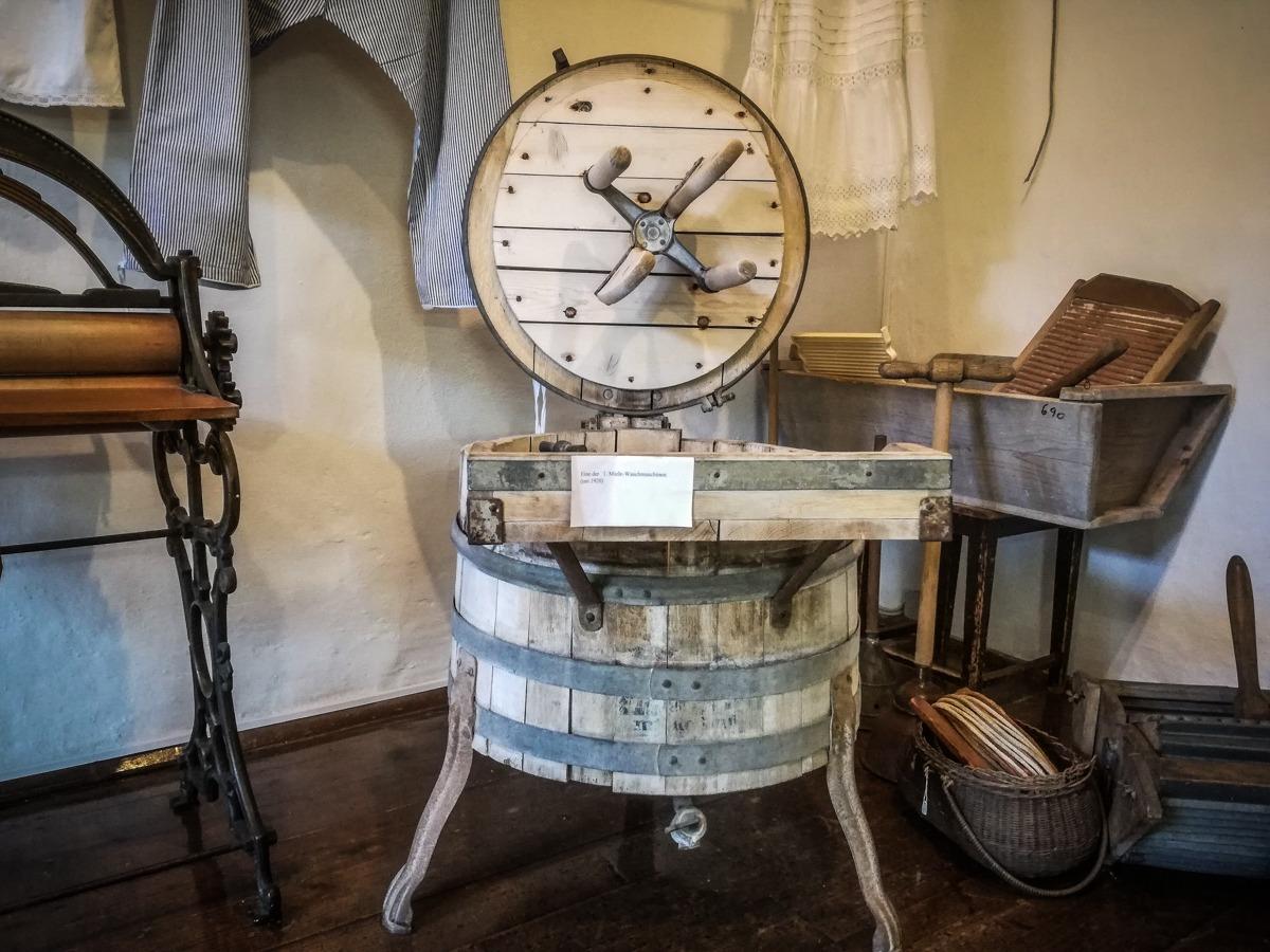 Miele Waschmaschine aus dem Jahre 1920 im Heimatmuseum in Langenlois
