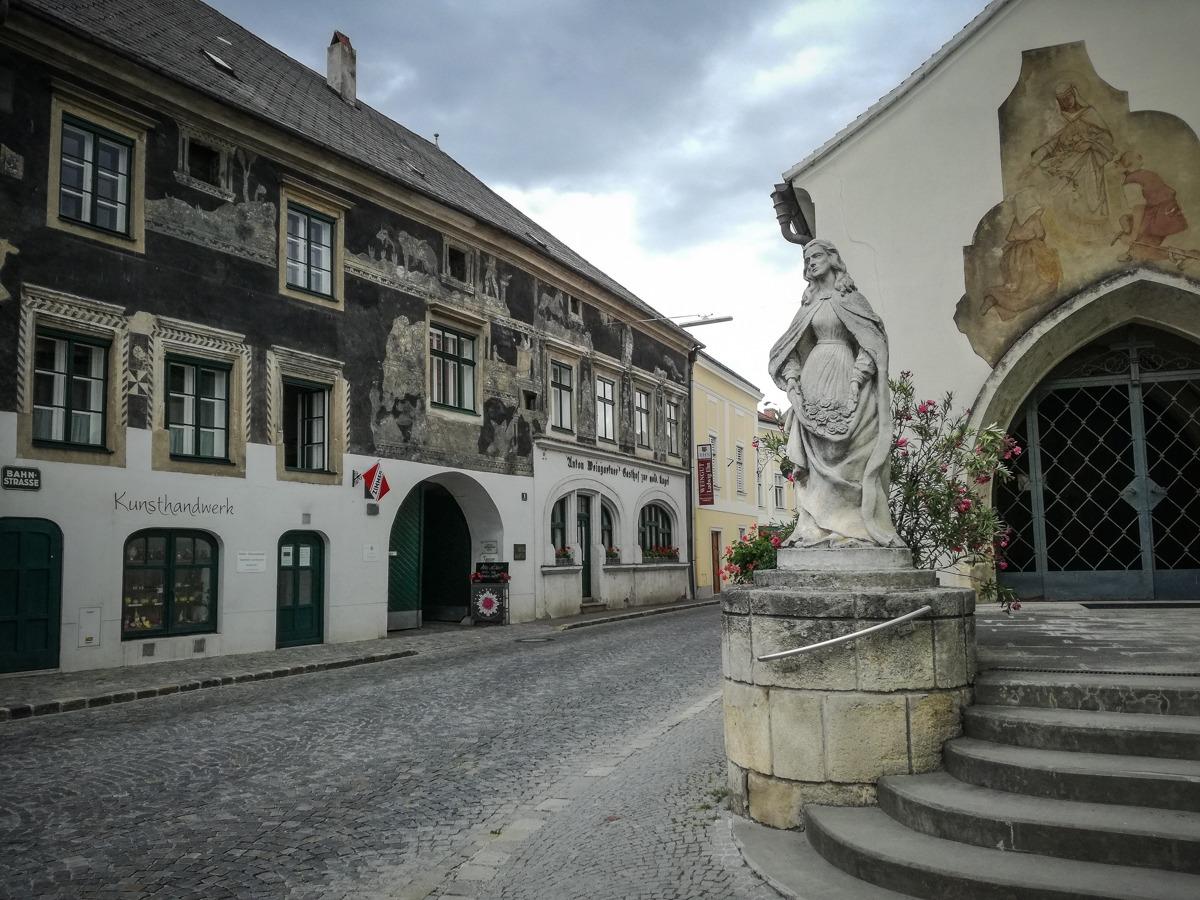 Historisches Gebäude in Langelois