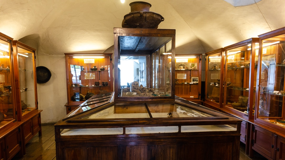Eine Reise über Jahrtausende im Heimatmuseum Langenlois