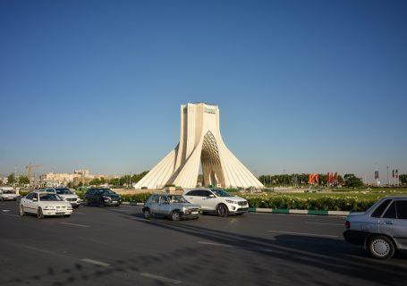 Auf nach Teheran - Iran - Tag 1