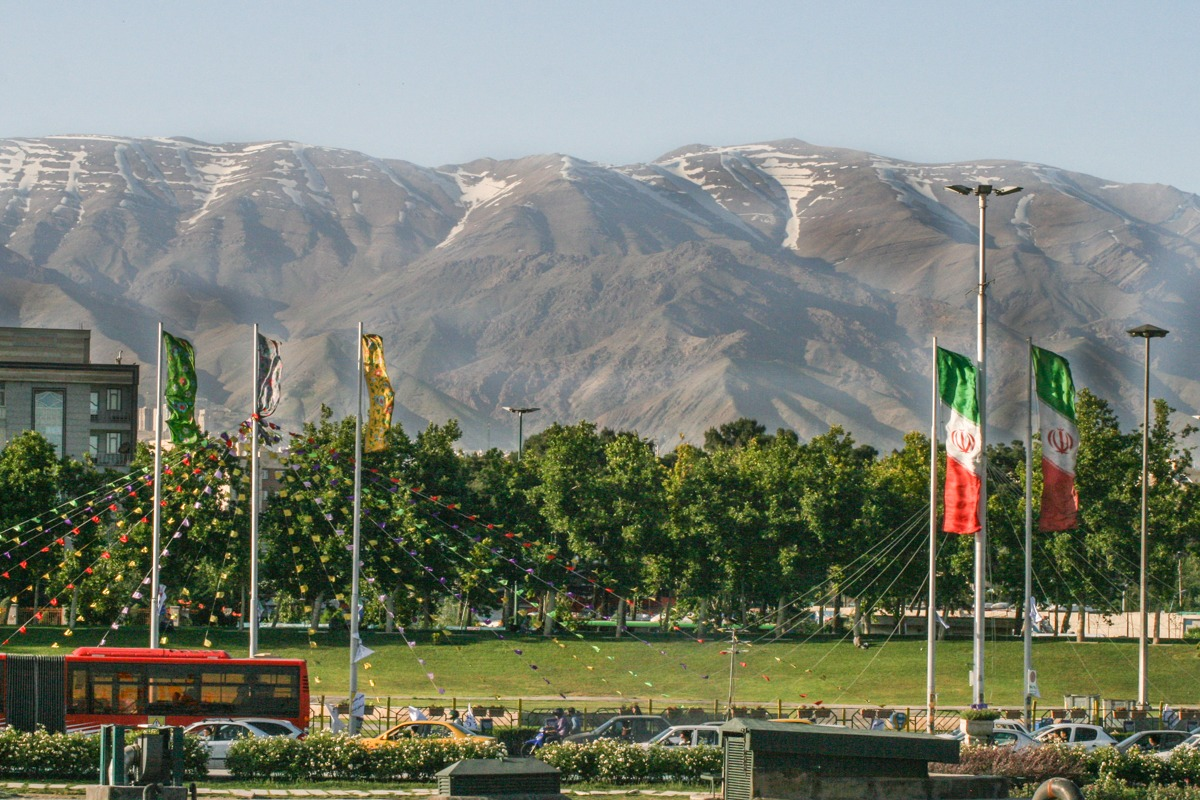 Azadi Monument - Ausblick - Teheran