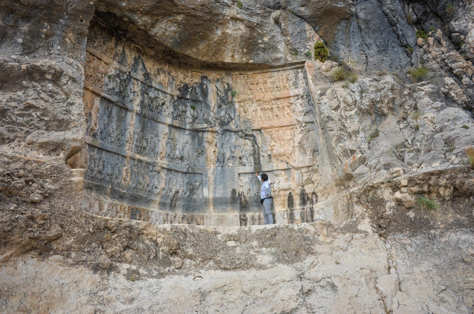 Bishapur - Tang-e Qandil - Reliefs - Iran