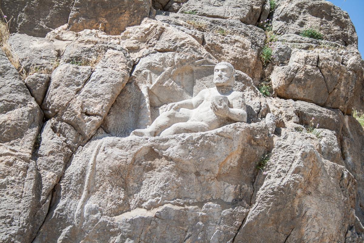 Iran - Bisotun - Herkules
