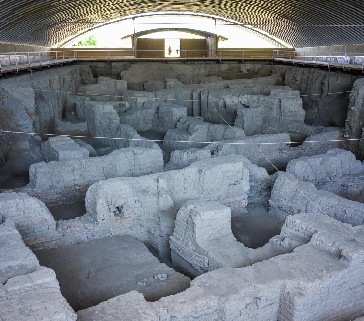Iran - Hamadan - Hegmataneh  archäologische Ausgrabungen