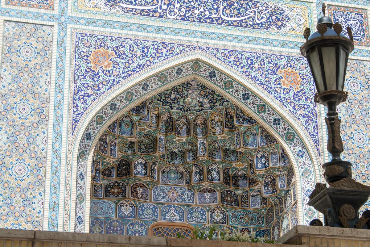 Muqarnas der Malek Nationalbibliothek in Teheran