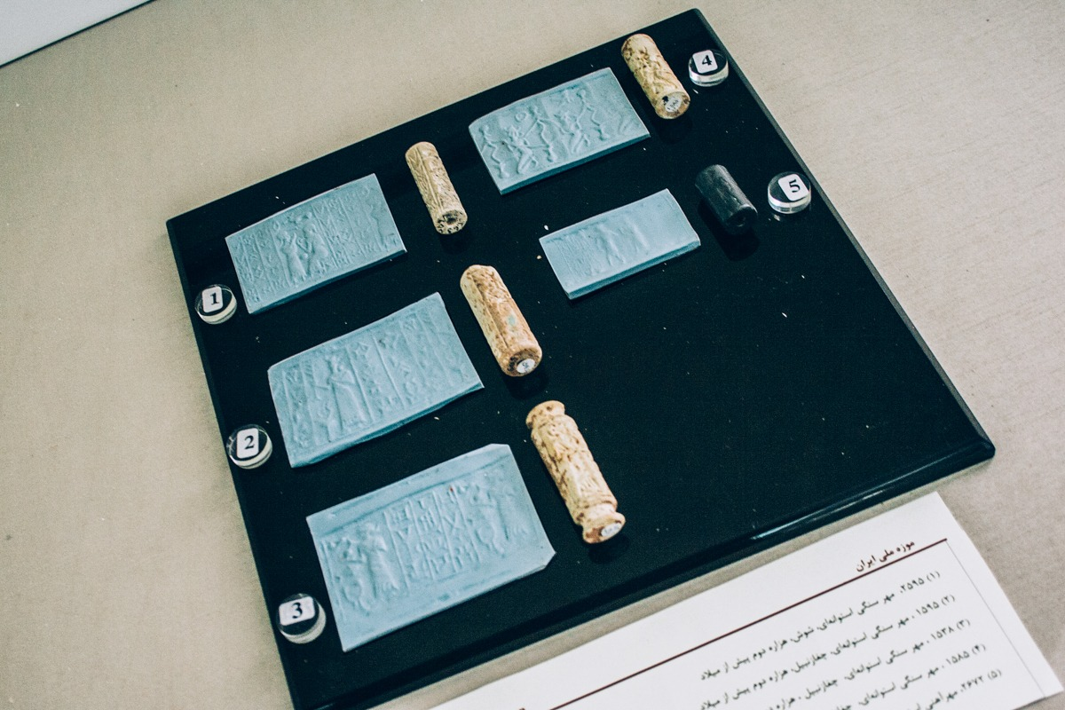 Schriftrollen im Nationalmuseum