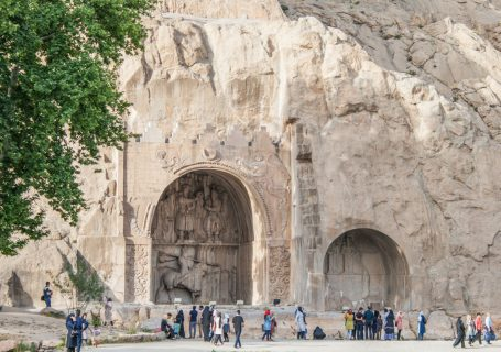 Hegmataneh Ausgrabung & Bisotun Reliefs - Iran - Tag 3