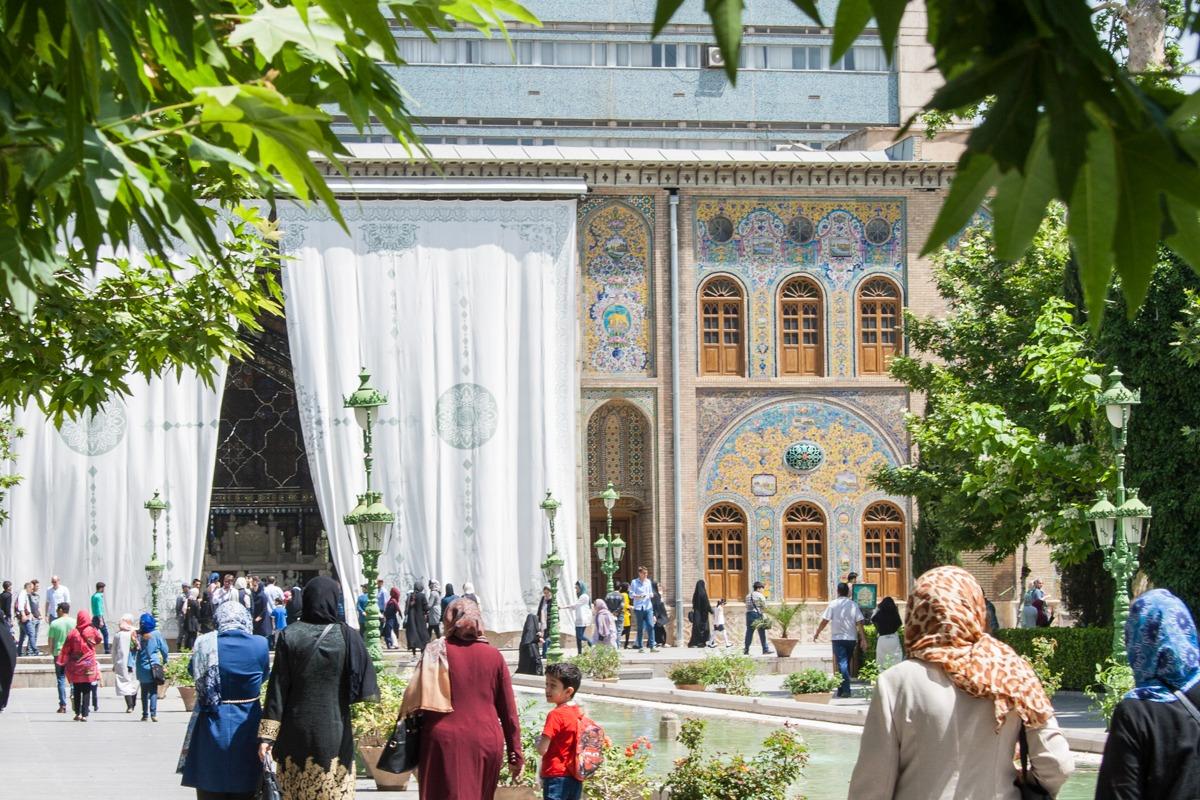 Golestan Palast - Iran - Teheran