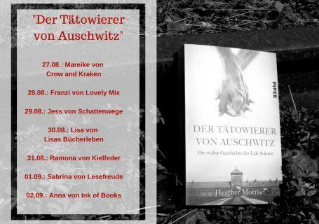 """Blogtour zu """"Der Tätowierer von Auschwitz"""""""
