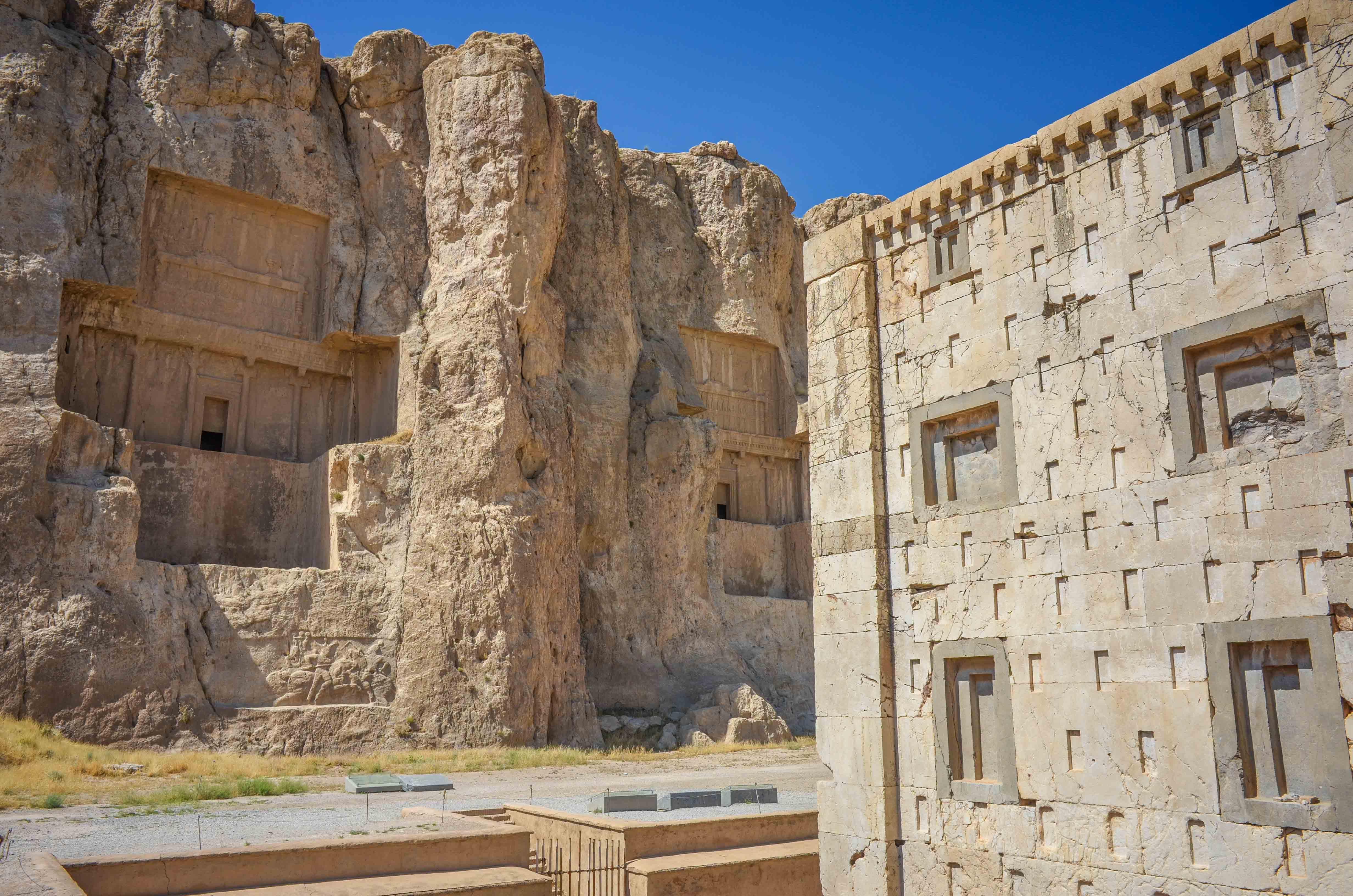 Die Kreuzgräber von Naqsh-e Rostam