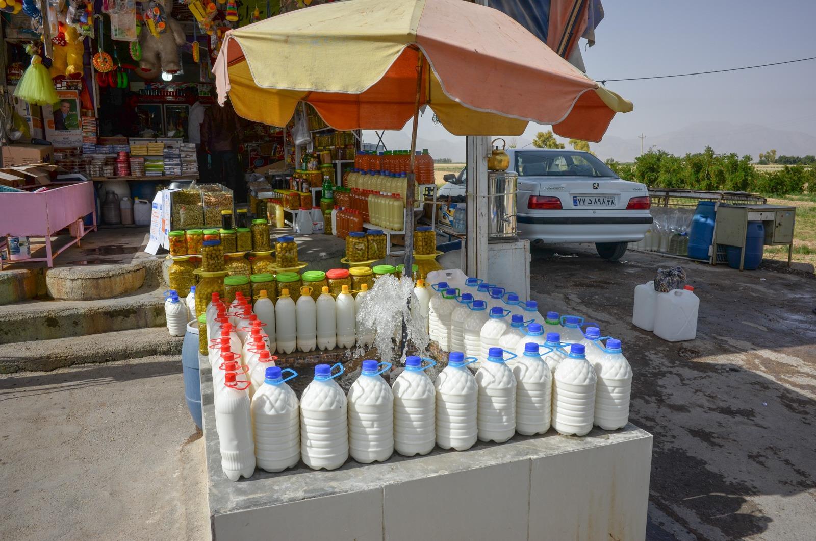 Ein Kiosk im Iran
