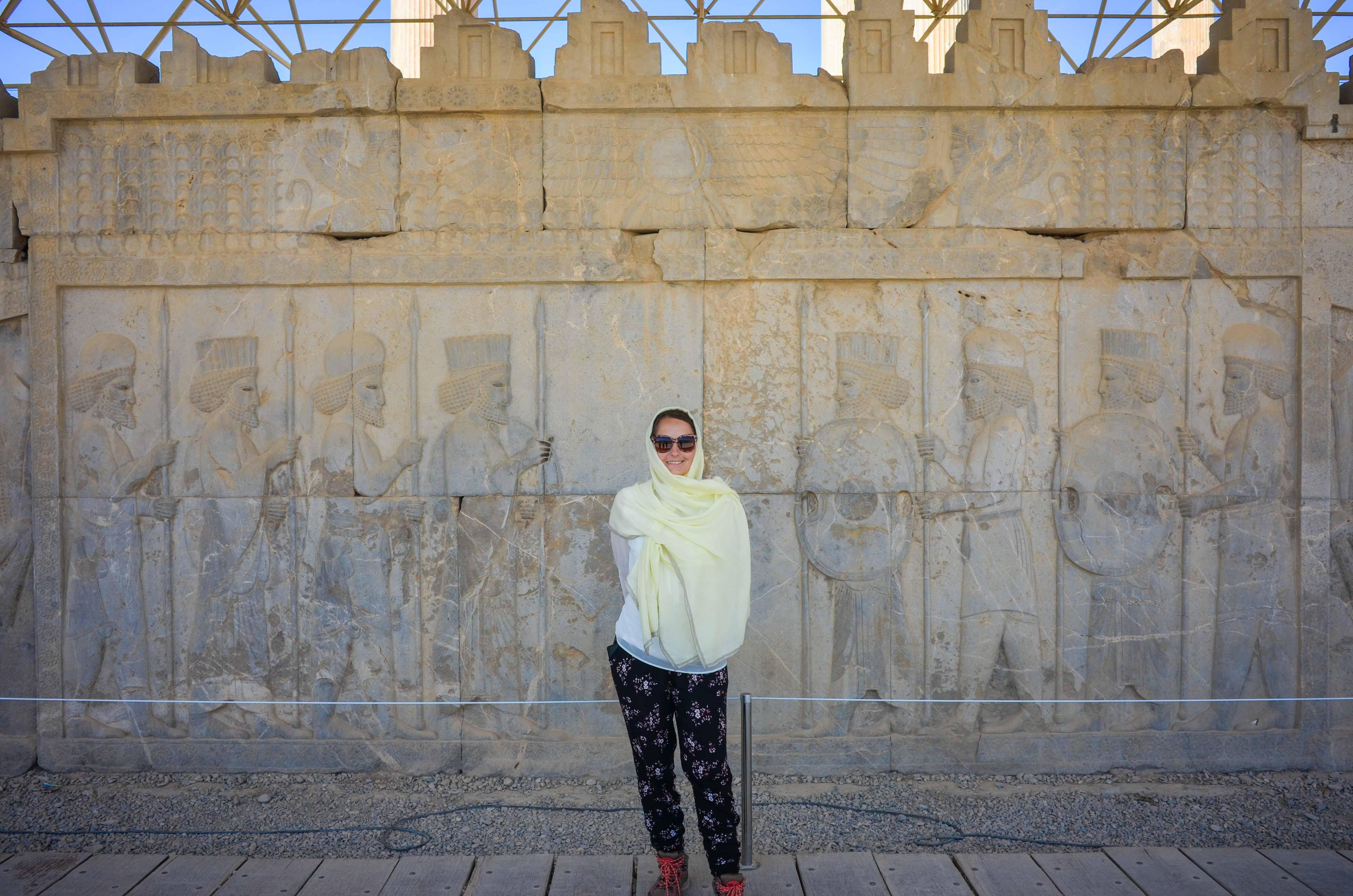 Gigantisches Persepolis, Pasargade & Kreuzgräber – Iran – Tag 7
