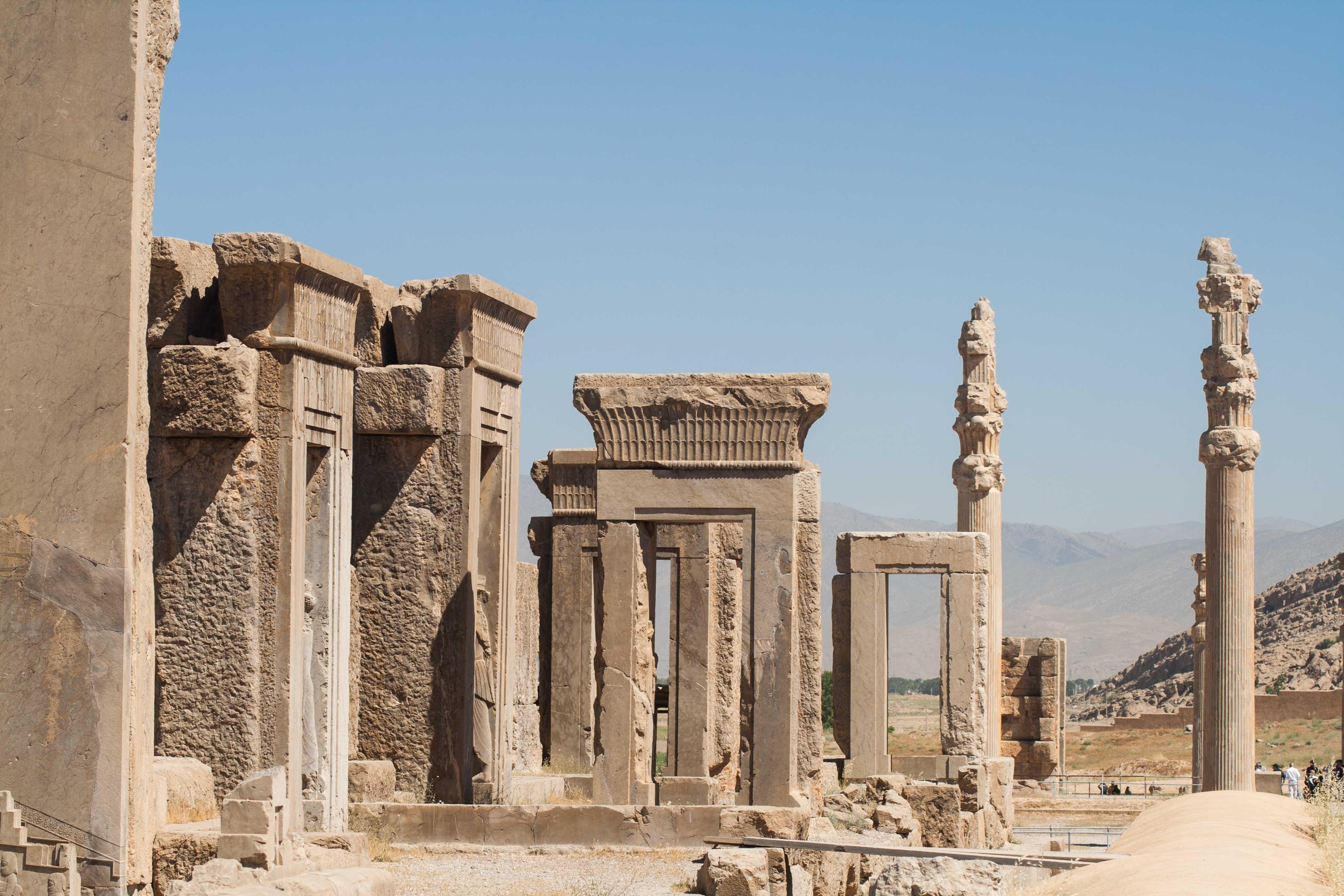 Gigantisches Persepolis im Iran