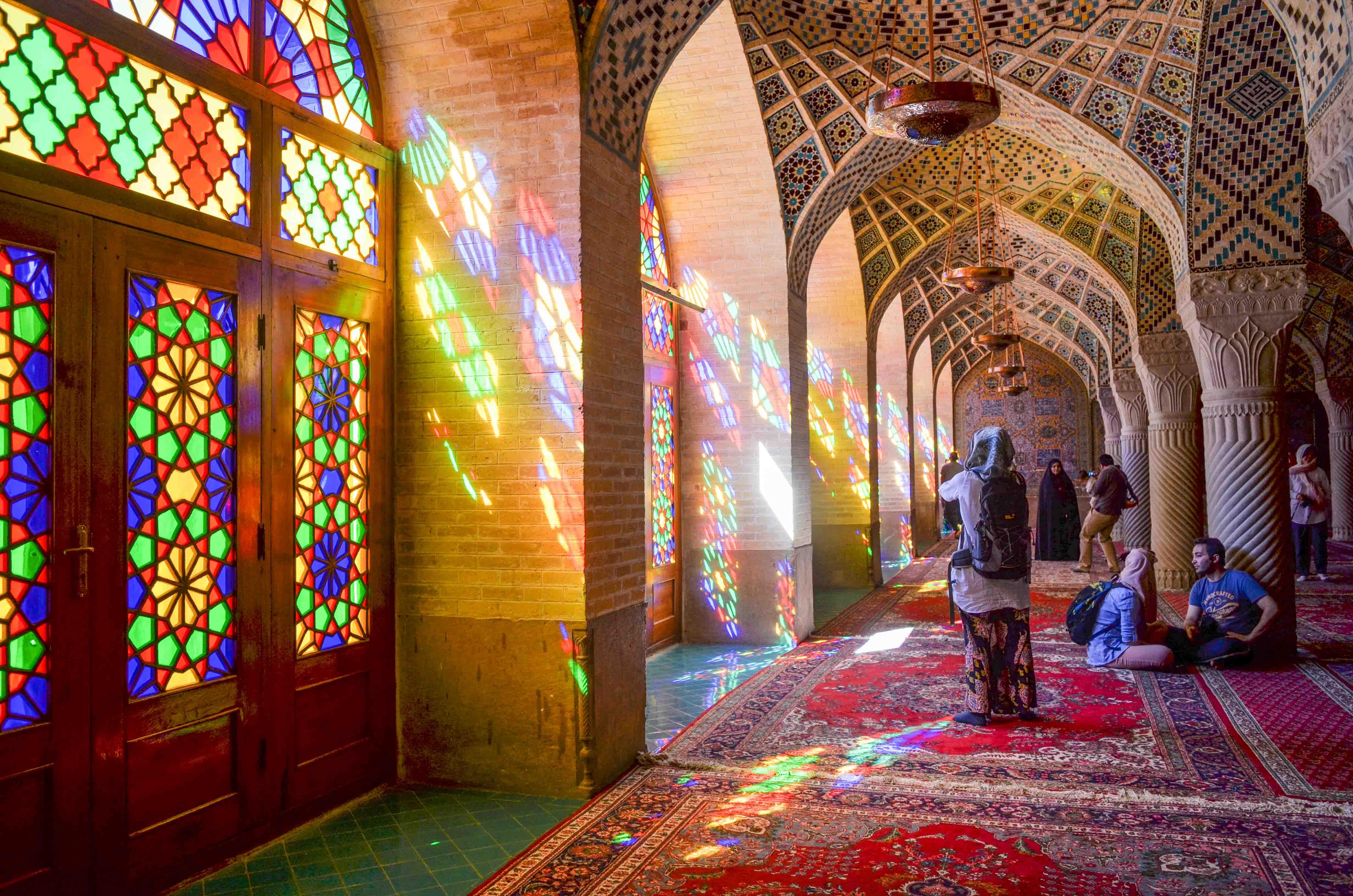Nasir-ol-Molk Moschee - Rosenmoschee -Shiraz