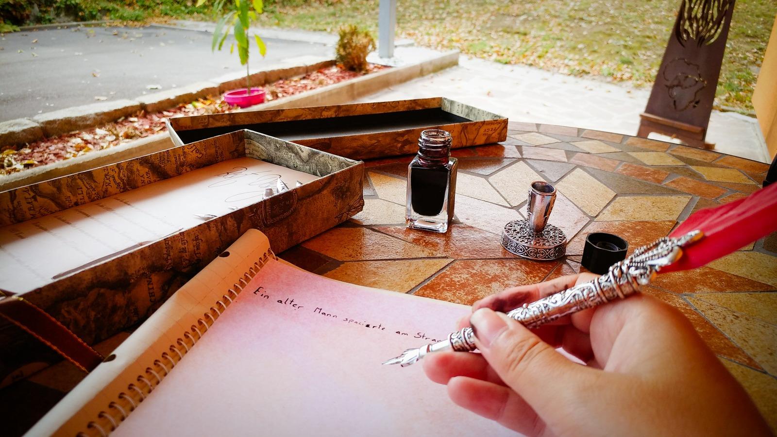 Ich schreibe für dich