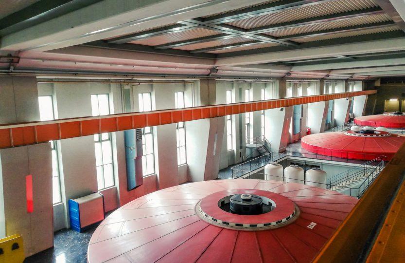 Turbinen - Donaukraftwerk Ybbs-Persenbeug