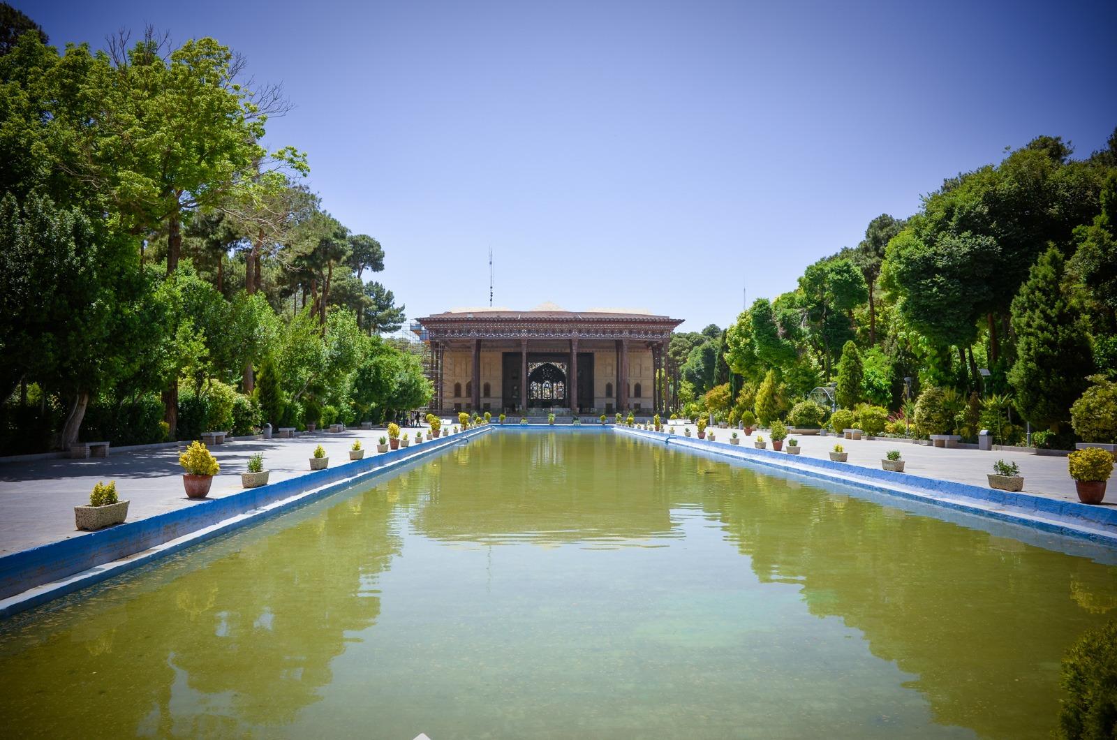 Chehel Sotun Palast - 40 Säulen Palast
