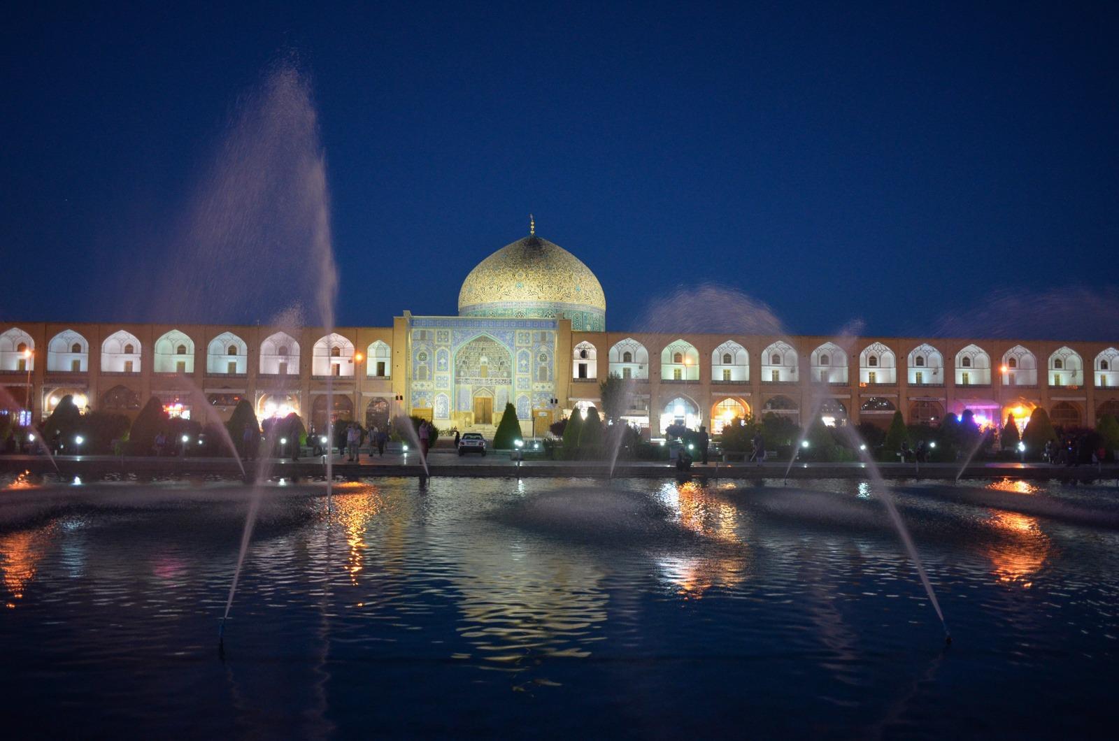Lofollah Moschee in Isfahan