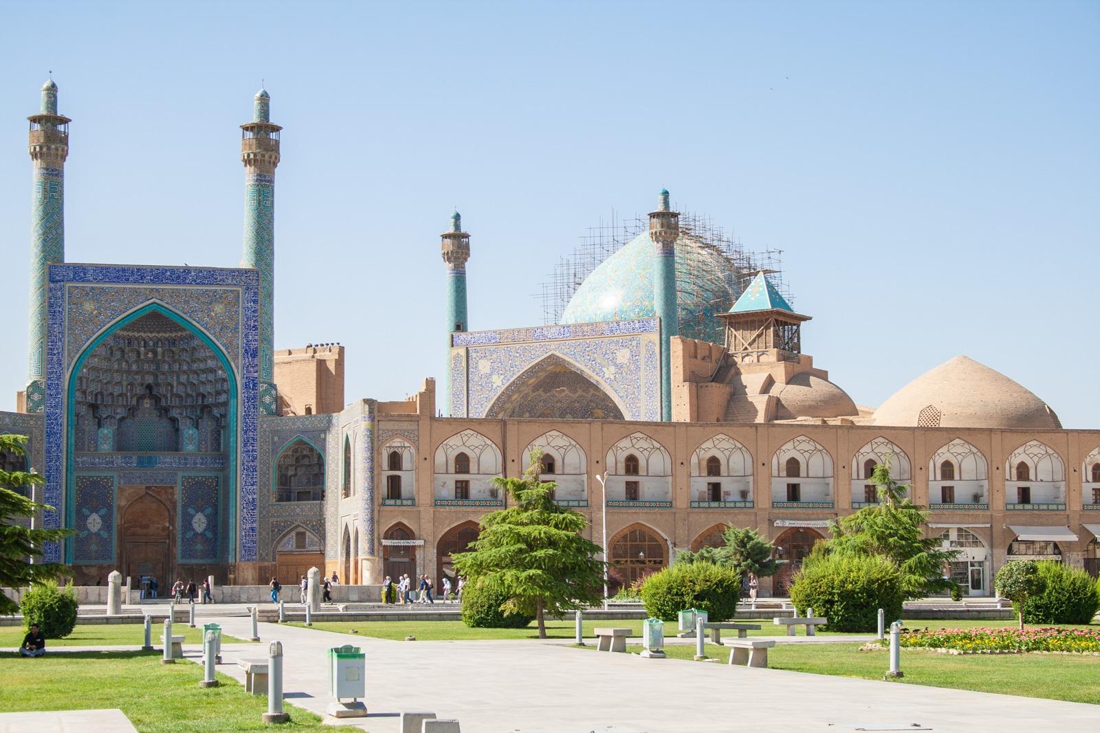 Der zweitgrößte Platz der Welt in Isfahan – Iran – Tag 12