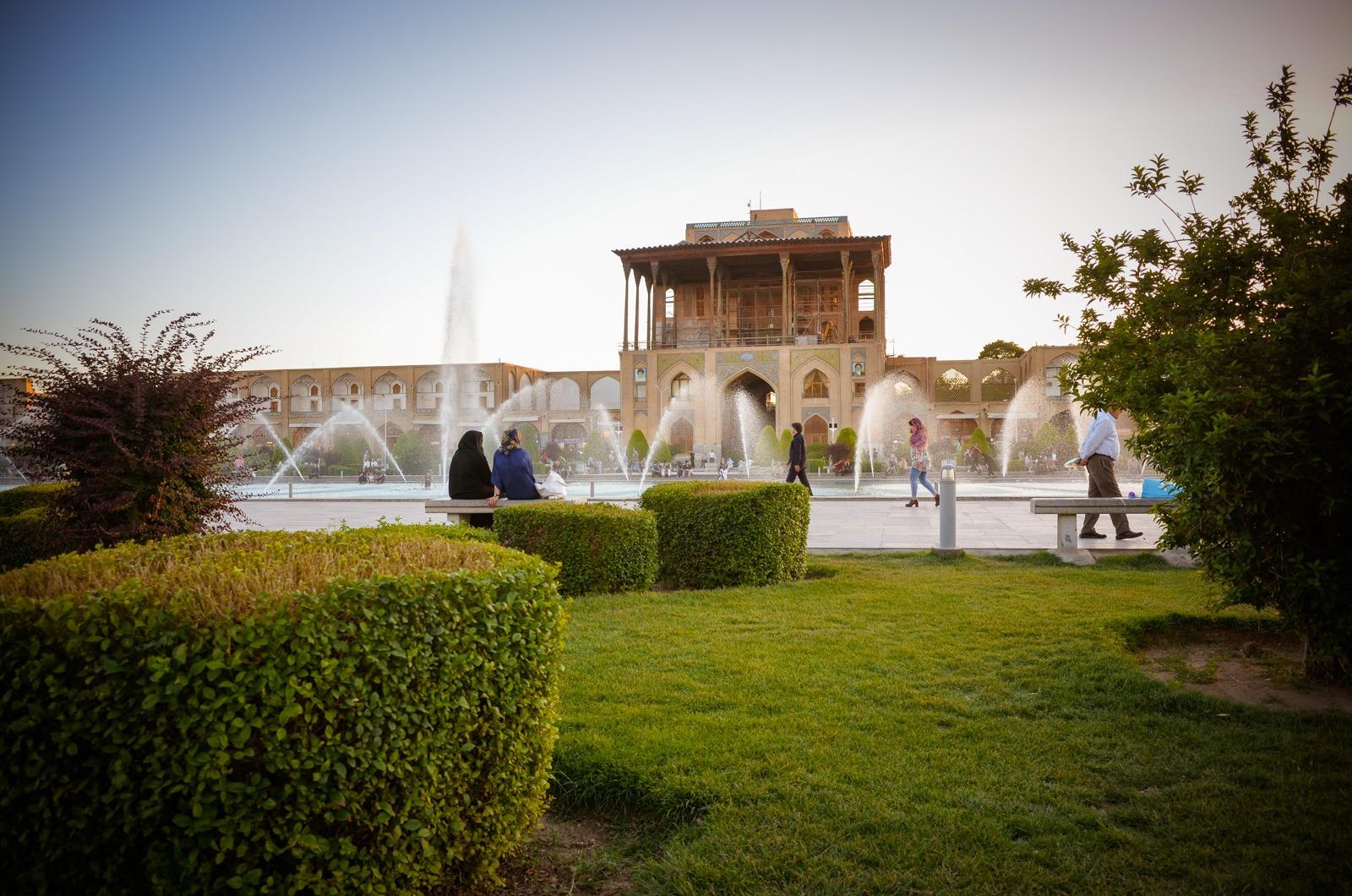Ali Qapu Palast - Isfahan