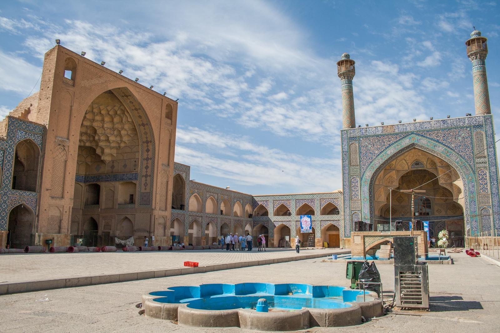 Freitagsmoschee in Isfahan