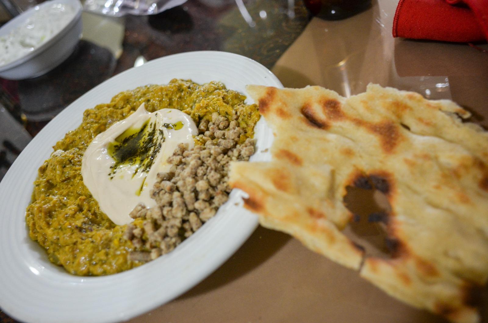 Vegetarian Food in Kerman im Iran