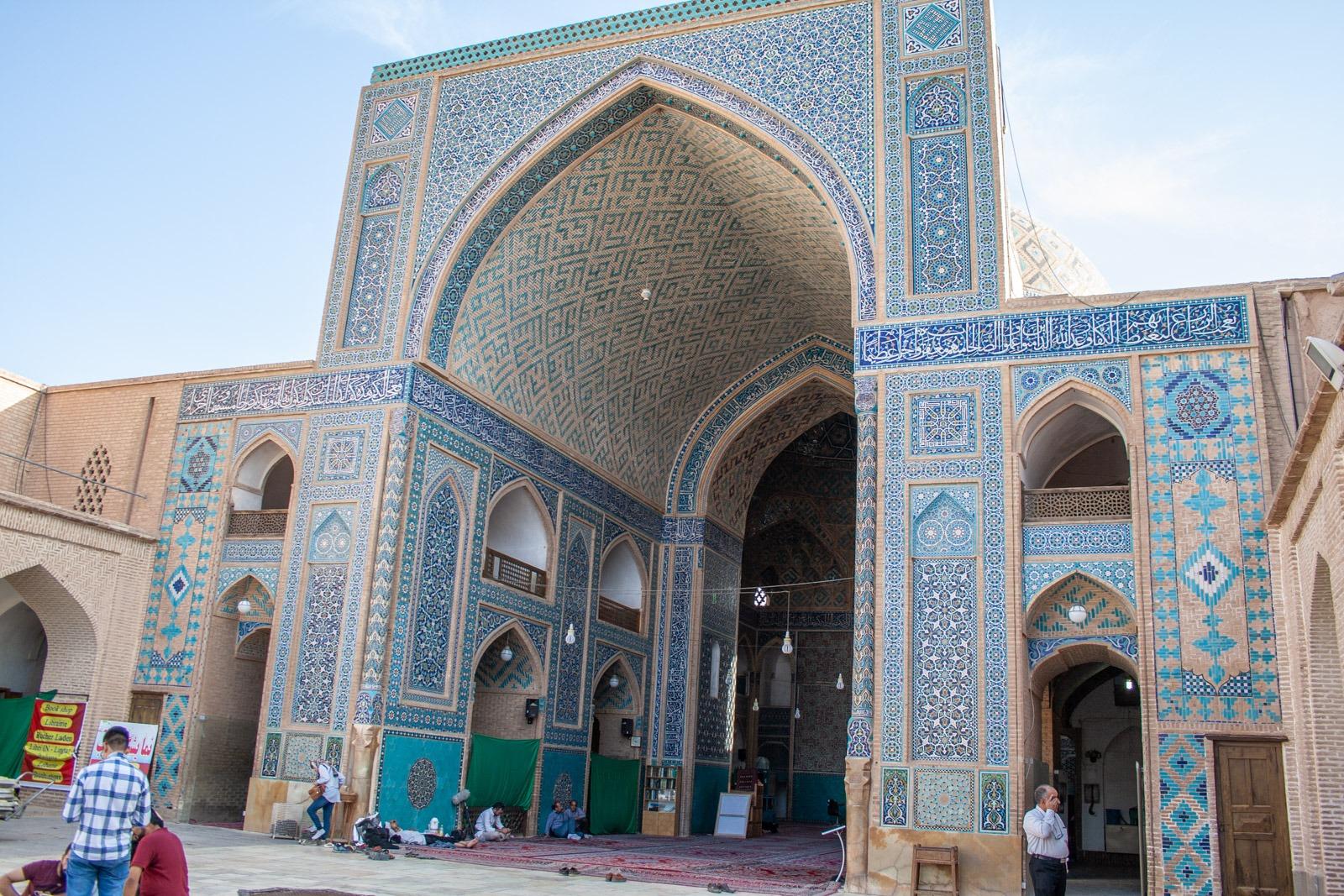 Jame Moschee, Freitagsmoschee in Yazd