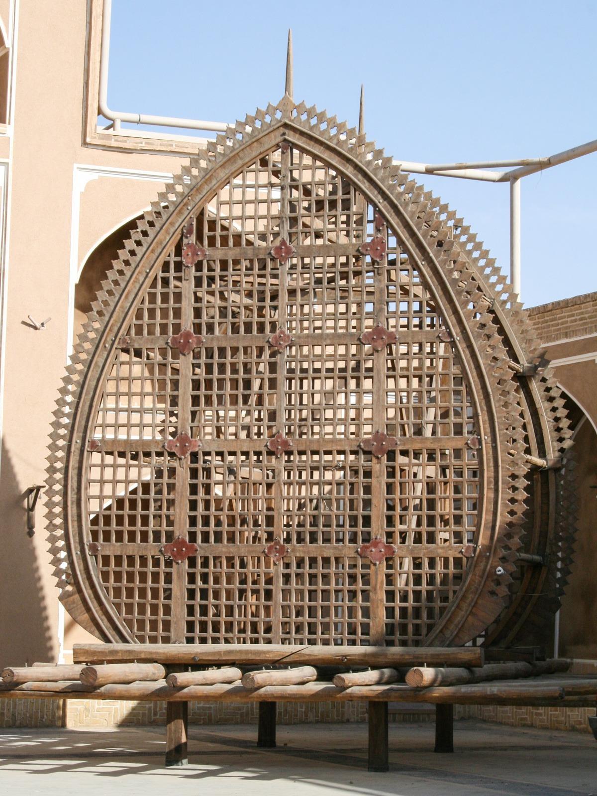 Nakhl Holzgerüst in Yazd