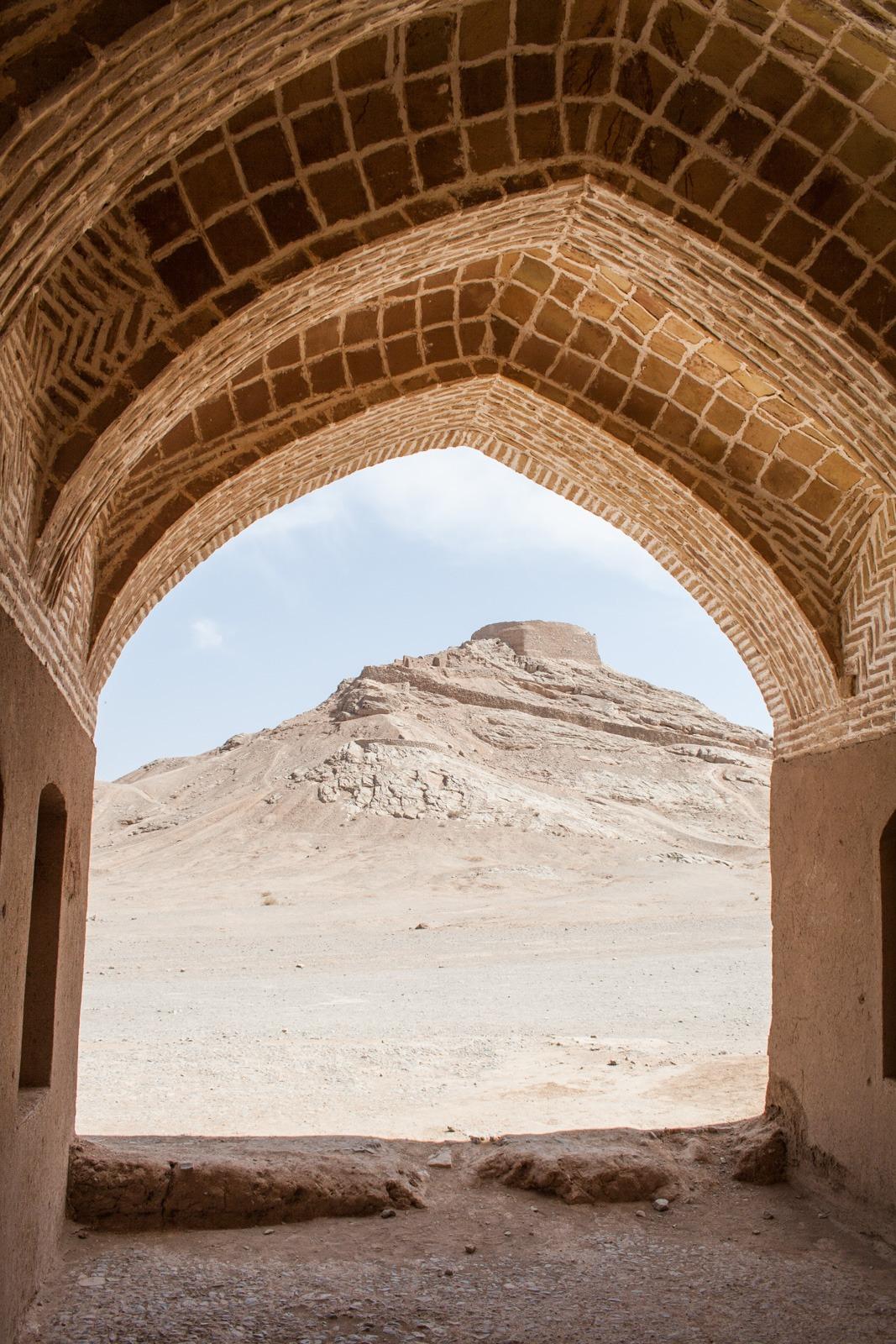 Schweigetürme der Zorastiker in Yazd