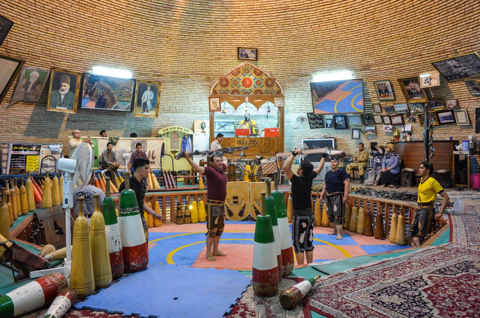 Zurkhaneh in Yazd im Iran