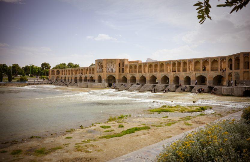 Khaju Brücke in Isfahan - Iran