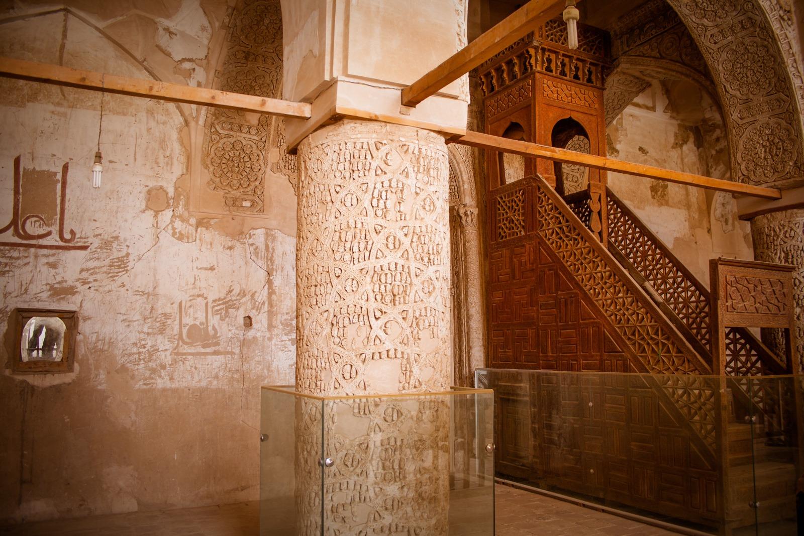 die Jame Moschee oder Freitagsmoschee in Nain