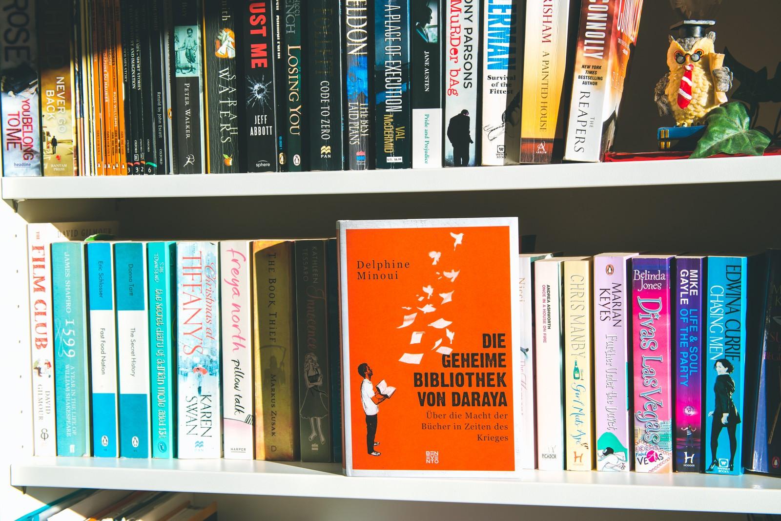 Die geheime Bibliothek von Daraya – Delphine Minoui