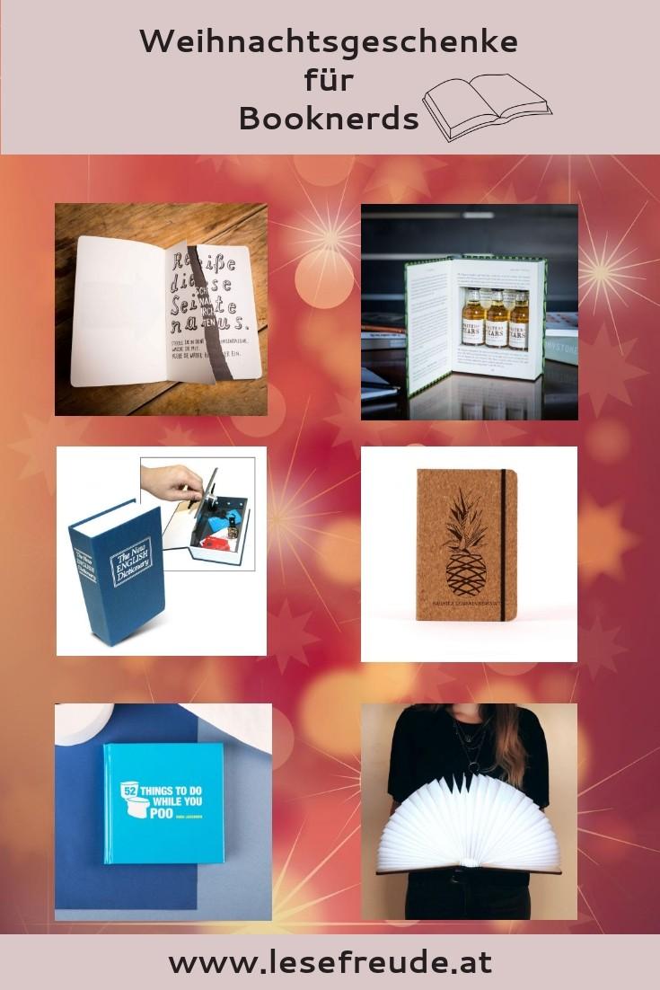 Weihnachtsgeschenke für Booknerds