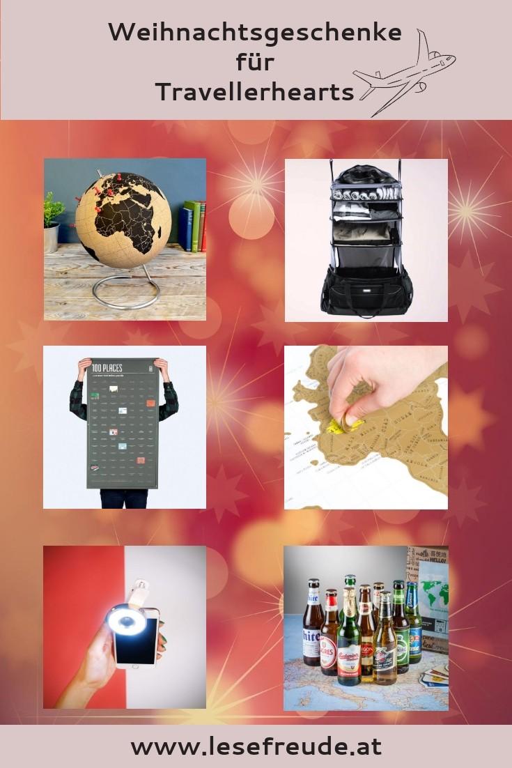 Weihnachtsgeschenke für Travellerhearts