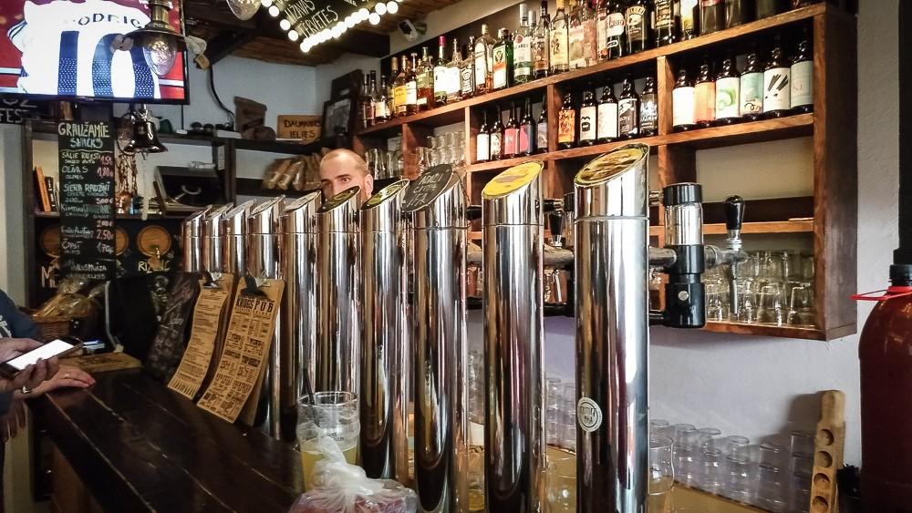Alus Muiza - Pub Beer